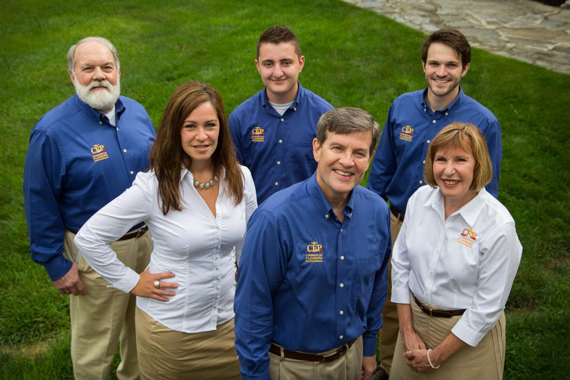 The Commercial Flooring Professionals Team
